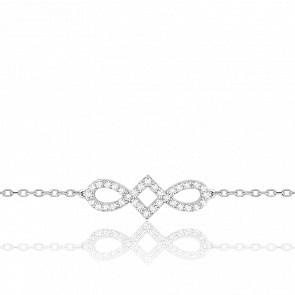 Bracelet Harmonie Or Blanc
