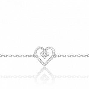 Bracelet Béguin Or Blanc