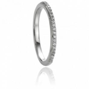 Alliance Roxane Diamants & Or Blanc 9K