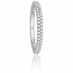 Alliance Cyrano Diamants G/SI2 & Or Blanc 18K