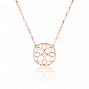 Collier Charme Or Rose