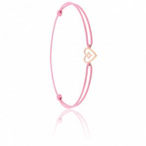 Bracelet cordon Béguin Or Rose