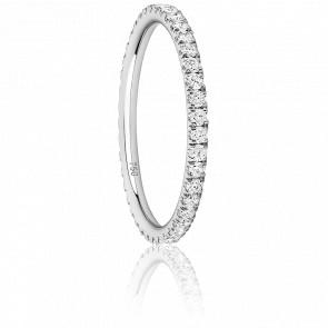 Alliance Eternity Majestueuse Diamants & Or Blanc 18K