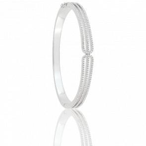 Bracelet Pure Argent & Zircons