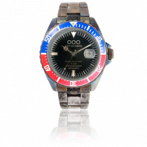 Automatico Red & Blue 44 mm