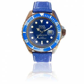 Light Blue Jean 44 mm