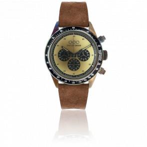 Cronografo Brown Cream 42 mm