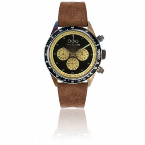 Cronografo Brown Black 42 mm