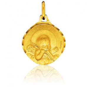 Médaille Ange à l'Arc Or Jaune 18K