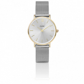 Minuit Mesh Gold/Silver CL30024