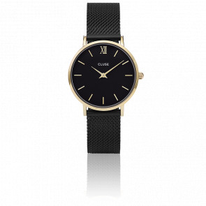 Minuit Mesh Gold Black/Black CL30026