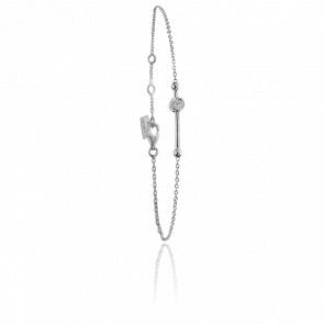 Bracelet Swing Argent & Diamants