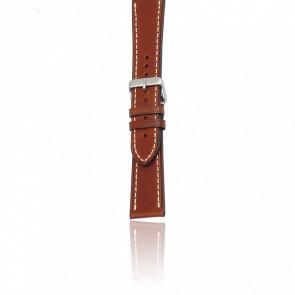 Bracelet Cuir Marron pour modèles Chrono Classic XLS/Infantry Vin