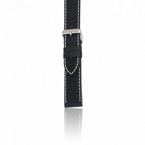 Bracelet Cuir Noir pour modèle Chrono Classic