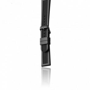 Bracelet Caoutchouc Noir pour modèle Dive Master Midsize