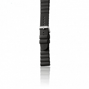 Bracelet Caoutchouc Noir pour modèle INOX.