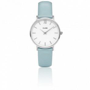 Minuit Silver White Sky Blue CL30028