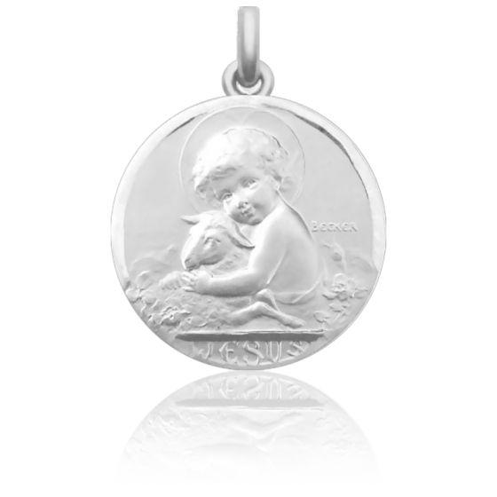 Médaille de Berceau Jésus Argent