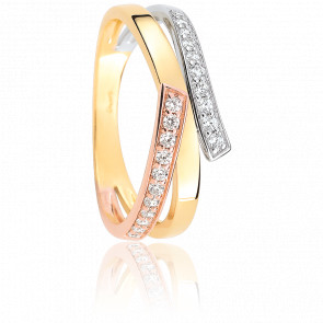 Bague Gamma 3 Ors & Diamants