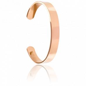 Bracelet Jonc Le Classic Plaqué Or Rose