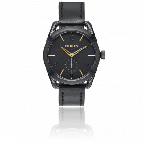 C39 Leather Black/Gold A459-010