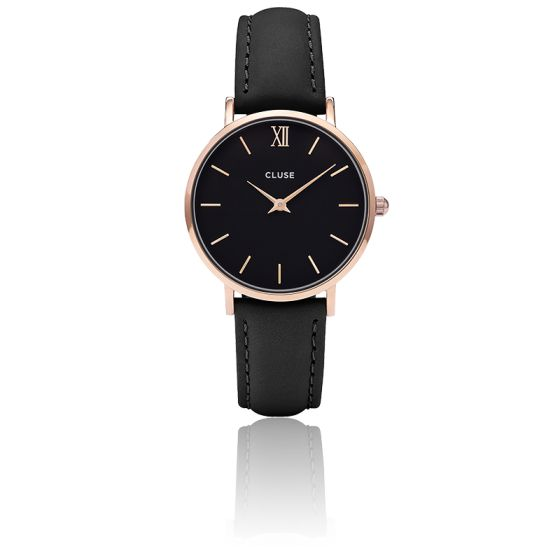 Minuit Rose Gold Black Black CL30022