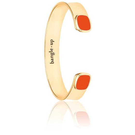 Bracelet Jonc Salomé Tangerine Plaqué Or Jaune