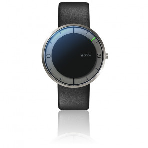 Nova Titan Quartz Black Dial Leather