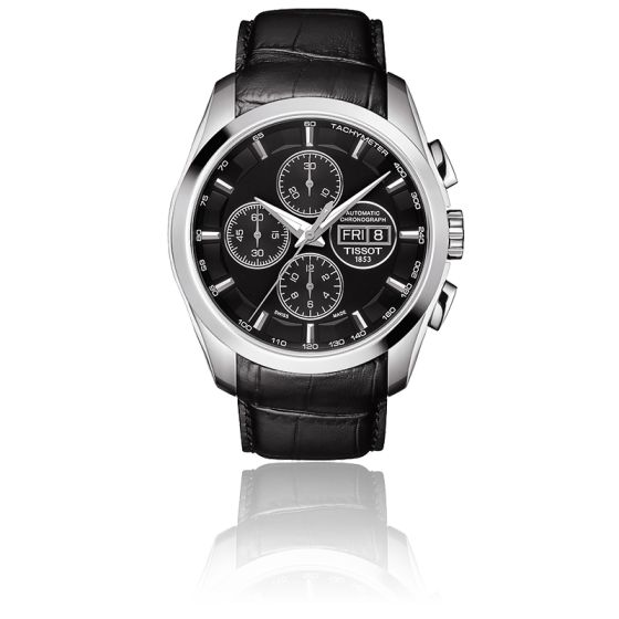 Chronographe Tissot Couturier T0356141605102 Automatic Ocarat TJclF1K