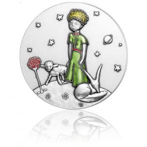 Médaille Le Petit Prince Colorisée Bronze Argenté