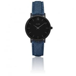 Minuit Full Black / Blue Denim CL30031