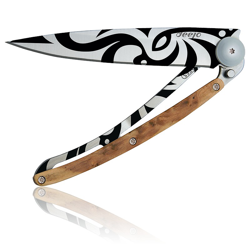 1c869643d3a Couteau Tattoo Tribal   Genévrier - Deejo - Ocarat