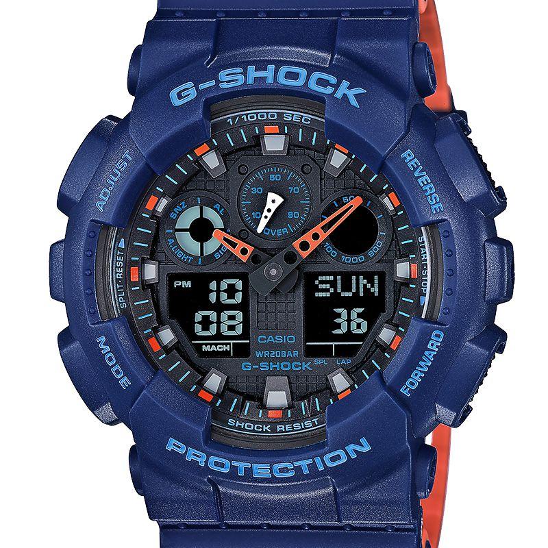 Montre Casio G Shock GA 100L 2AER Ocarat  LGdWq