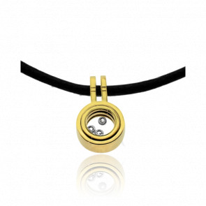 Collier Cordon Circus Diamants et Or Jaune 18K