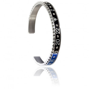 Bracelet STEEL avec Diamants (Existe en 10 coloris)