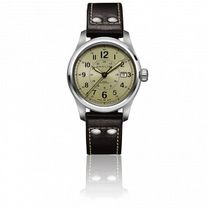 Khaki Field Auto 40mm H70595523