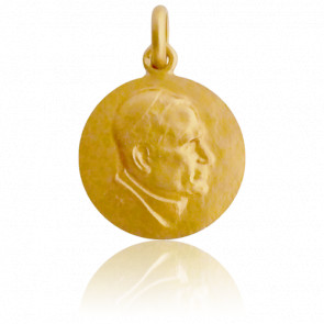 Médaille Jean Paul II Or Jaune 18K