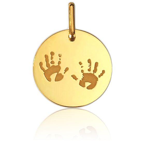 Médaille Petites Mains Or Jaune