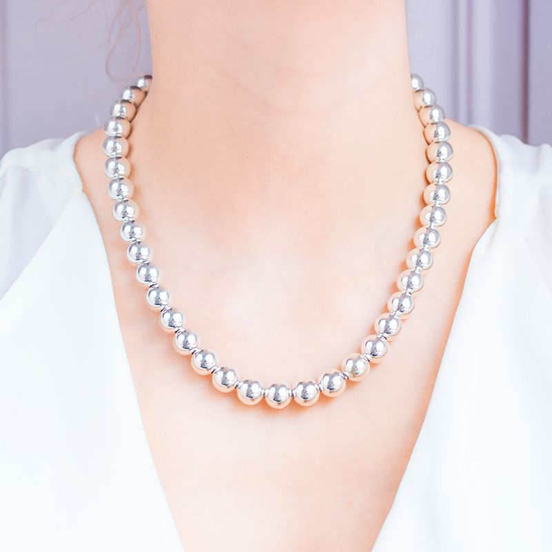 beige 50m Collier de Perles en Plastique Guirlande Perle Collier Cha/îne Bobine Perles Perles Cha/îne Guirlande Perles pour Mariage.