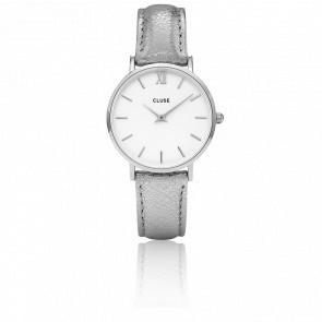 Minuit Silver White Silver Metallic CL30039
