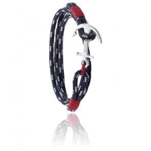 Bracelet Ancre Atlantic 3 Argent