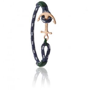 Bracelet Ancre Mediterranean Green Bronze