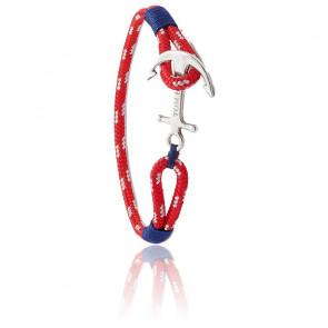 Bracelet Ancre Artic Blue Argent