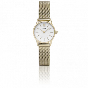 La Vedette Mesh Gold White CL50007