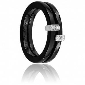 Bague Darkness & Diamants, 0.04 carat - Guy Laroche