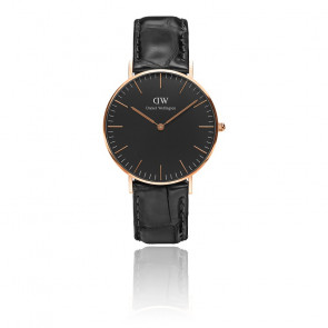 Classic Black Rose Gold Reading 36mm