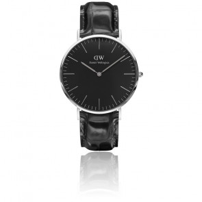 Classic Black Silver Reading 40 mm