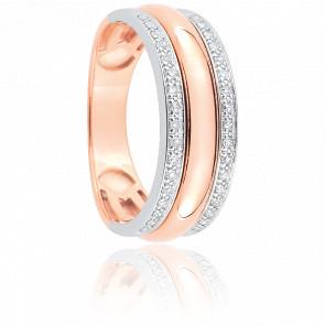 Bague Thalia Or Rose & Diamants