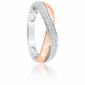 Bague Alamandra 2 Ors & Diamants