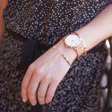 Minuit Mesh Rose Gold White CL30013